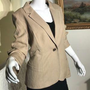 Escada Light Wool & Linen Jacket